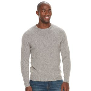 Men's Croft & Barrow® Classic-Fit Stretch Crewneck Sweater